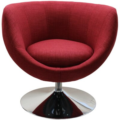 Barrel Chair Color: Cherry