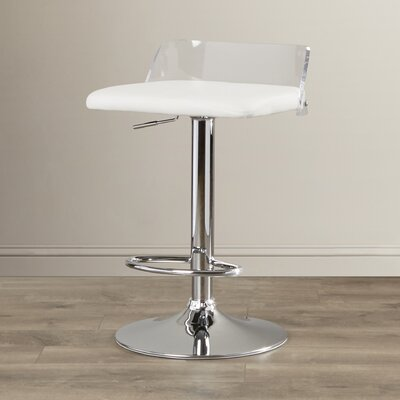 Hurst Adjustable Height Swivel Bar Stool