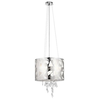 Nickolas 4-Light Drum Pendant