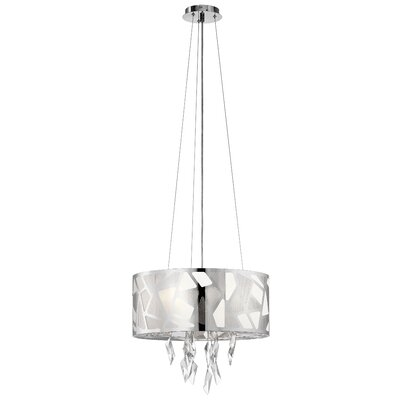 Nickolas 6-Light Drum Pendant
