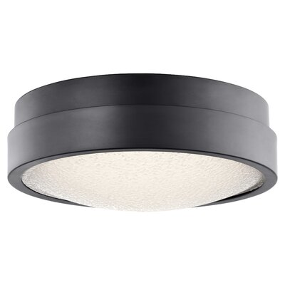 Dale 1-Light Flush Mount Finish: Bronze