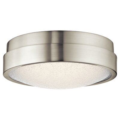 Dale 1-Light Flush Mount Finish: Brushed Nickel