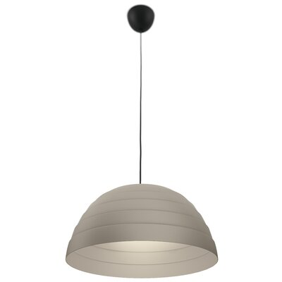 Payden 1-Light Inverted Pendant Finish: Grey