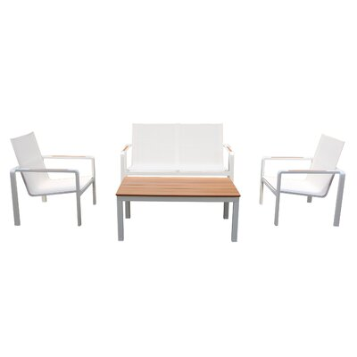 Cataldo 4 Piece Deep Seating Group