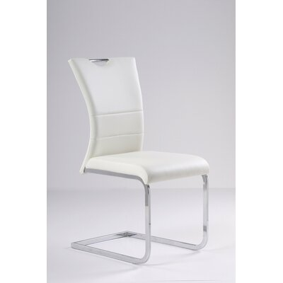 Somnus Side Chair (Set of 4) Upholstery: White