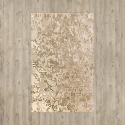 Ayanna Neutral Area Rug Rug Size: Rectangle 5 x 76
