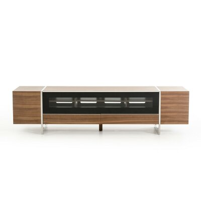 Booth 79 TV Stand Color: Walnut