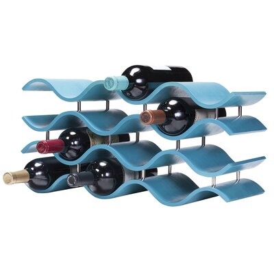 Ernesto 12 Bottle Tabletop Wine Rack