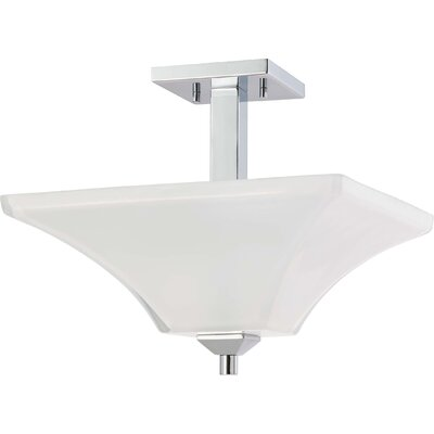 Edington 11.25 2-Light Semi Flush Mount
