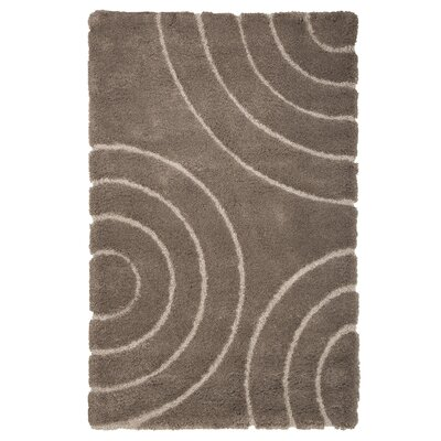 Danil Hand-Woven Brown Area Rug Rug Size: 5 x 77