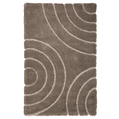 Danil Hand-Woven Brown Area Rug Rug Size: 8 x 10