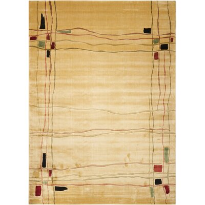 Charlisa Beige Area Rug Rug Size: Rectangle 76 x 96