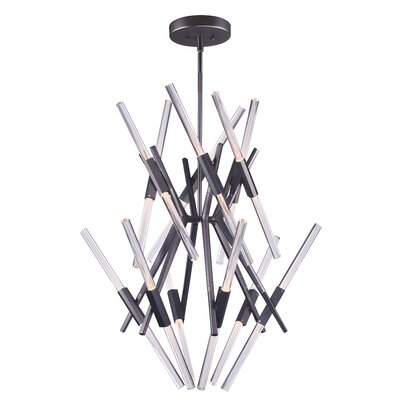 Lepus LED 24-Light Sputnik Chandelier