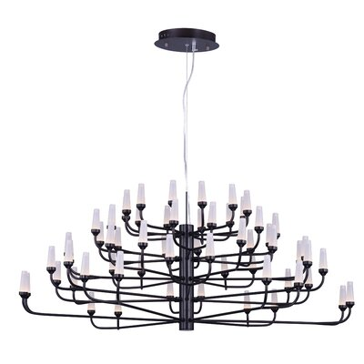 Gregory 60-Light Sputnik Chandelier Finish: Bronze