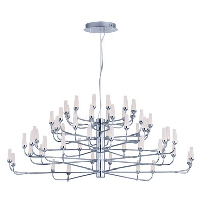 Cygnus 60-Light Sputnik Chandelier Finish: Polished Chrome