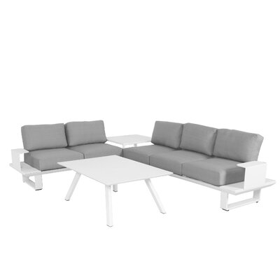 Wistow 3 Piece Deep Seating Group with Cushion
