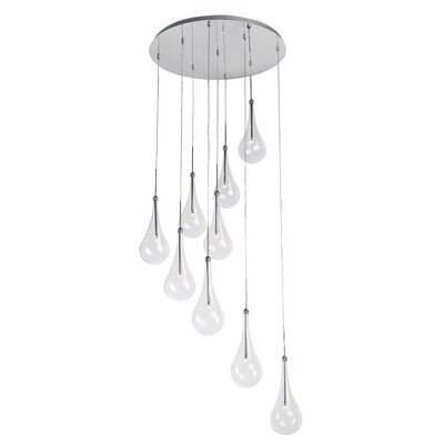 Neal 9-Light LED Pendant