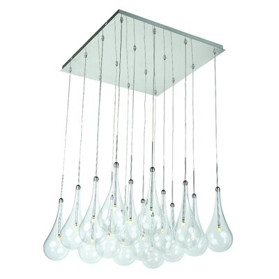 Neal 16-Light Cascade Pendant