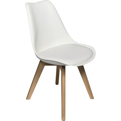 Dakota Genuine Leather Upholstered Dining Chair