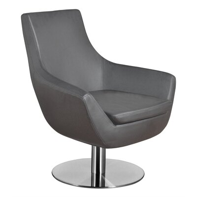 Dakota Lounge Chair Upholstery: Gray