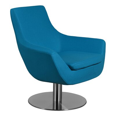 Dakota Lounge Chair Upholstery: Turquoise