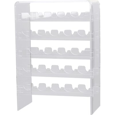 Metoyer 20 Bottle Floor Wine Rack