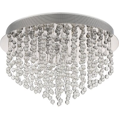 Coletta 22-Light Flush Mount Size: 12.25 H x  19.75 W x 19.75 D