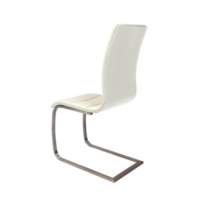 Alton Side Chair (Set of 2) Finish: White