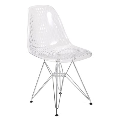 Panthea Transparent Side Chair