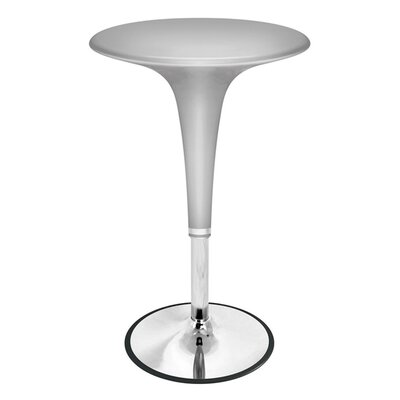 Fisher Furniture Adjustable Pub Table Finish: Silver