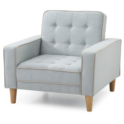 Navi Armchair Upholstery: Light Blue