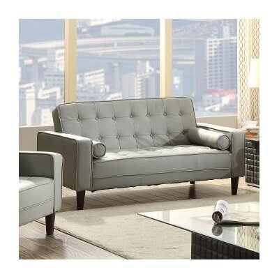 Laurence Sleeper Sofa Upholstery: Gray