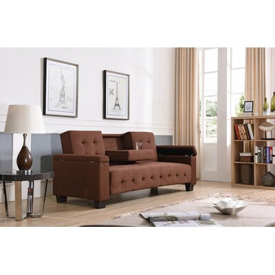 WADL8235 31995947 Wade Logan Suede – Chocolate Sofas