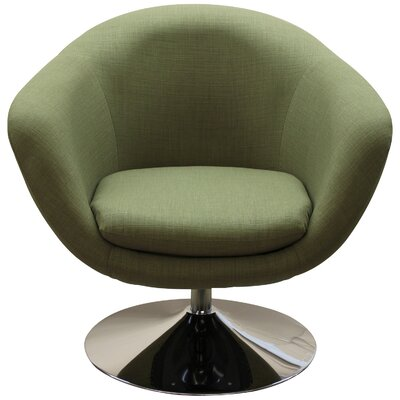 Worsley Barrel Chair Color: Oregano