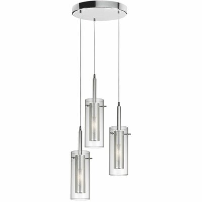 Fennia 3-Light Pendant Finish: Polished Chrome