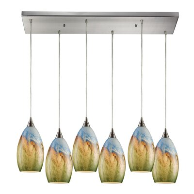 Noi 6-Light Kitchen Island Pendant