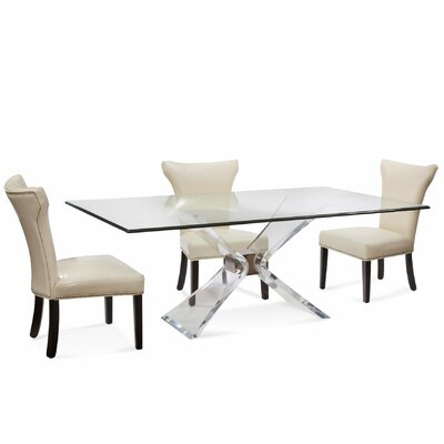 Brittany Modern 5 Piece Dining Set