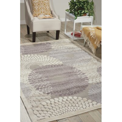 Asa Grey Area Rug Rug Size: Rectangle 22 x 39