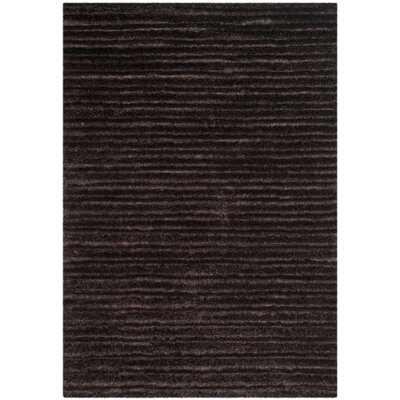 Rivers Edge Black Area Rug Rug Size: Rectangle 4 x 57