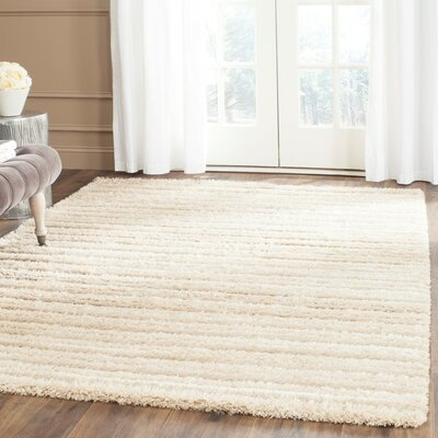 Grace Beige Area Rug Rug Size: Rectangle 53 x 76