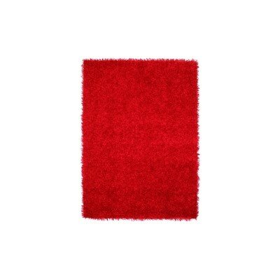 Gayle Red Area Rug Rug Size: 4 x 6