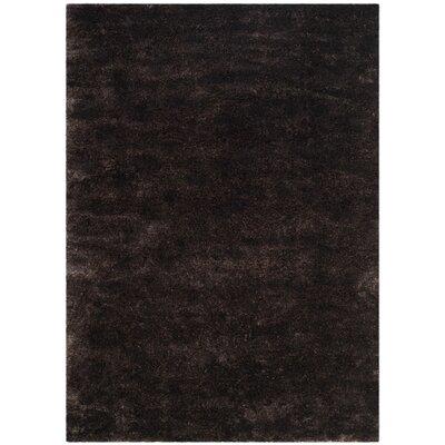 Jeri Black Area Rug Rug Size: 67 x 96