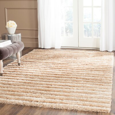Faulkner Brown Area Rug Rug Size: 53 x 76