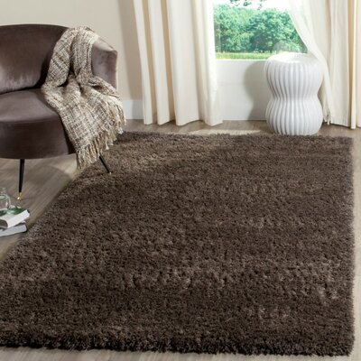 Kenney Dark Gray Area Rug Rug Size: Rectangle 4 x 6