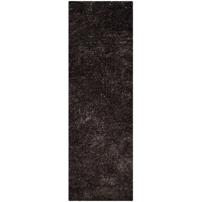 Kenney Dark Gray Area Rug Rug Size: Runner 23 x 7