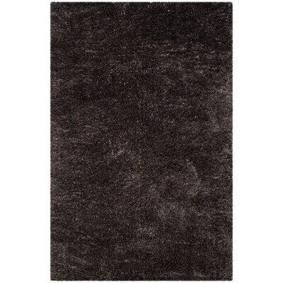 Kenney Dark Gray Area Rug Rug Size: Rectangle 51 x 76