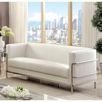 Chaoyichi Sofa Upholstery Color: White