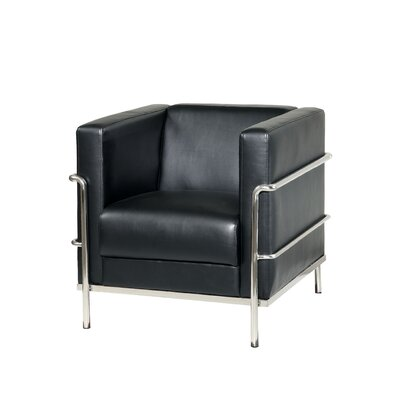 Chaoyichi Armchair Color: Black