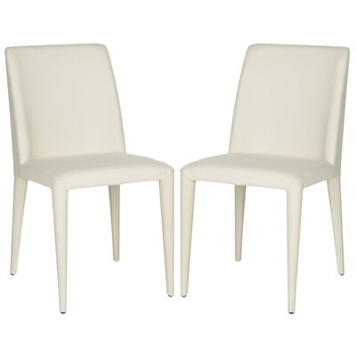Zackary Side Chair Upholstery: Linen - Beige