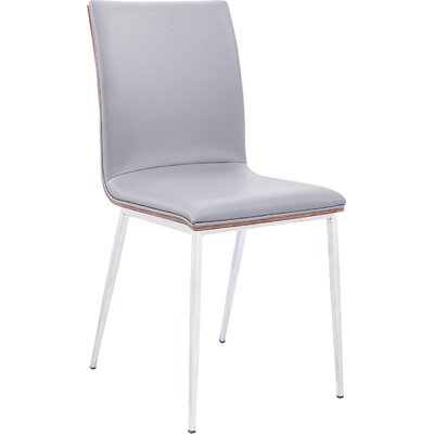Bonetti Side Chair Side Chair Upholstery: Gray PU